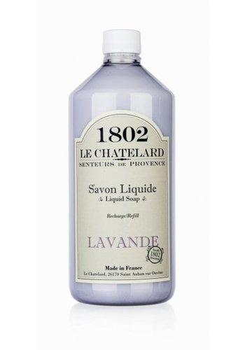 Le Chatelard 1802 Lavendel vloeibare zeep navulverpakking (1000 ml)
