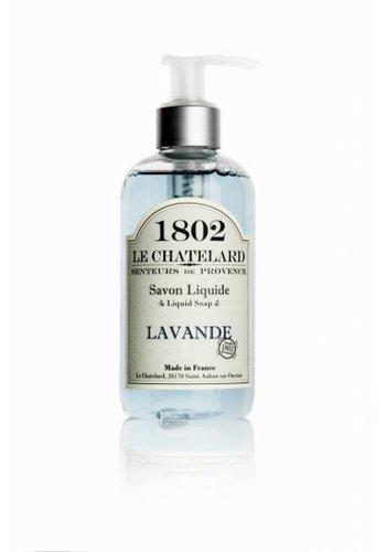 Le Chatelard 1802 Lavendel vloeibare zeep met pompje (250 ml)