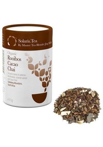Solaris Tea Solaris Biologische Rooibos Cacao Chai Thee - losse thee (50 gram)