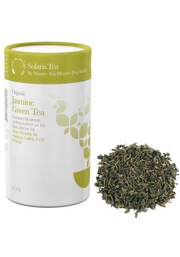 Solaris Tea Solaris Biologische Groene Thee Jasmijn - losse thee (100 gram)