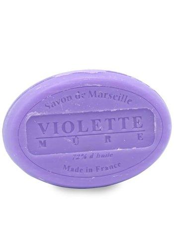 Le Chatelard 1802 Natuurlijke Marseille zeep Viooltjes-Braam (100 gram)