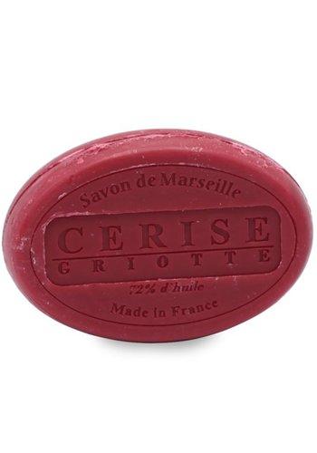 Le Chatelard 1802 Natuurlijke Marseille ovale zeep Kers (100 gram)