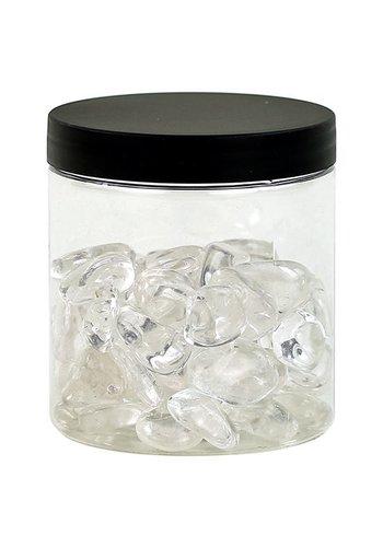 Yogi & Yogini naturals Bergkristal AA medium in transp. pot (± 250 gram)