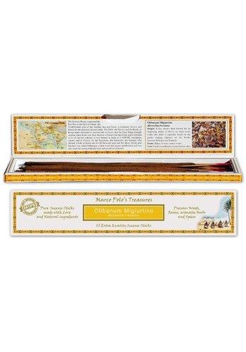 Yogi & Yogini naturals Wierook Marco Polo's Treasures Olibanum Migiurtino