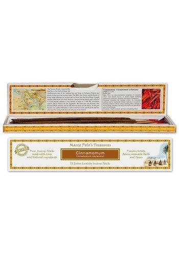 Yogi & Yogini naturals Wierook Marco Polo's Treasures Cinnamomum