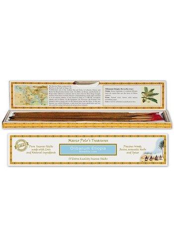 Yogi & Yogini naturals Wierook Marco Polo's Treasures Olibanum Etiopia