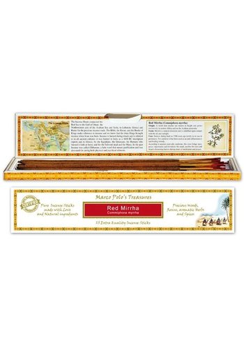 Yogi & Yogini naturals Wierook Marco Polo's Treasures Red Mirrha