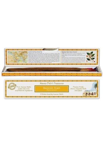 Yogi & Yogini naturals Wierook Marco Polo's Treasures Benzoin Siam