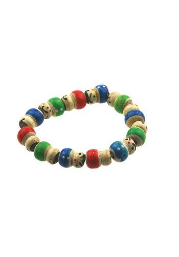 Zen sieraden Armbandje van gelukspoppetjes (kinderen)