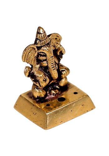 Yogi & Yogini naturals Wierookbrander Ganesha messing (±4.5cm)