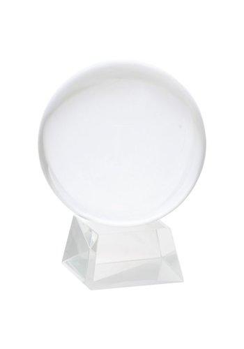 Yogi & Yogini naturals Kristallen bol + voet glas (Ø 15 cm)
