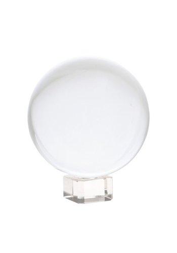 Yogi & Yogini naturals Kristallen bol + voetje glas (Ø10 cm)