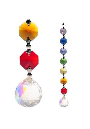 Yogi & Yogini naturals Aurora Sphere Feng-Shui chakrakristallen (20 cm)