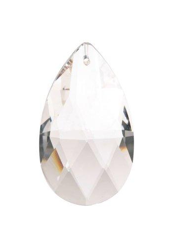 Yogi & Yogini naturals Regenboogkristal druppelvorm AAA kwaliteit (2,9x5cm )