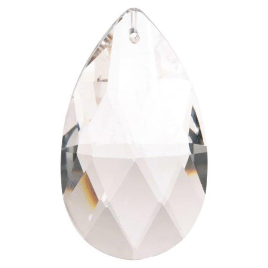 Regenboogkristal druppelvorm AAA kwaliteit (2,9x5cm )