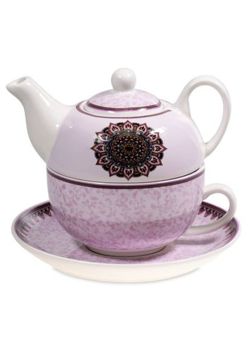Tea for One Tea for One Mandala paars