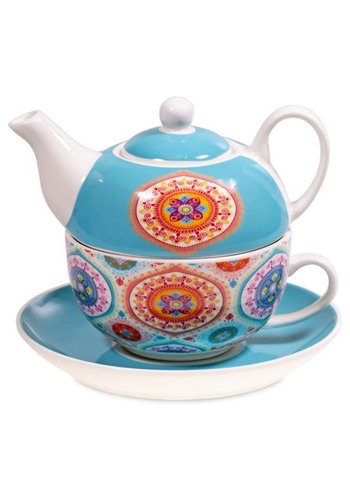 Tea for One Tea for One Mandala blauw