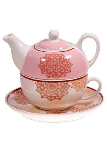Tea for One Tea for One Mandala roze