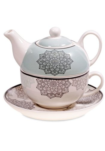 Tea for One Tea for One Mandala grijs