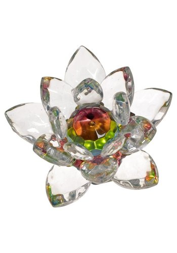 Yogi & Yogini naturals Kristal Lotus klein (5 cm)