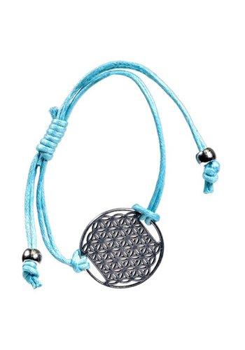 Yogi & Yogini naturals Armbandjes Bloem des Levens Turquoise