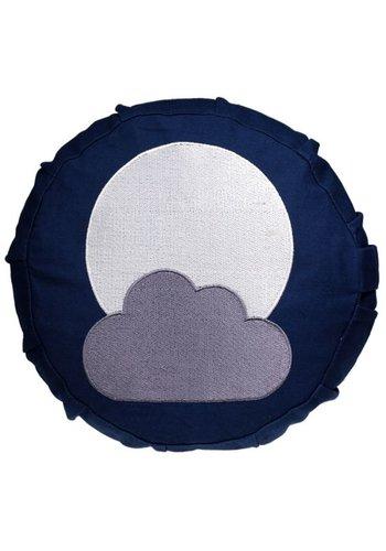 Yogi & Yogini naturals Meditatiekussen maan voor kinderen (23x8cm)