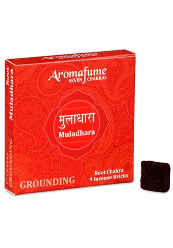 Aromafume Aromafume Chakra Wierookblokjes: Muladhara - basis chakra