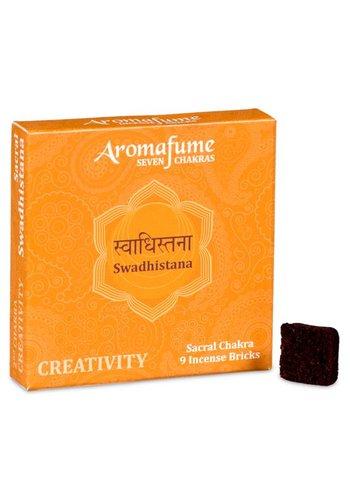 Aromafume Aromafume Chakra Wierookblokjes: Swadhishtana - sacraal chakra