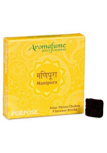 Aromafume Aromafume Chakra Wierookblokjes: Manipura - solar plexis chakra