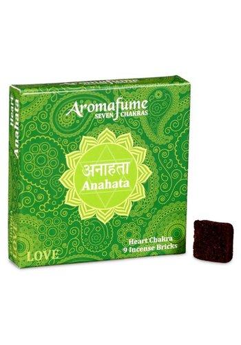 Aromafume Aromafume Chakra Wierookblokjes: Anahata - hartchakra