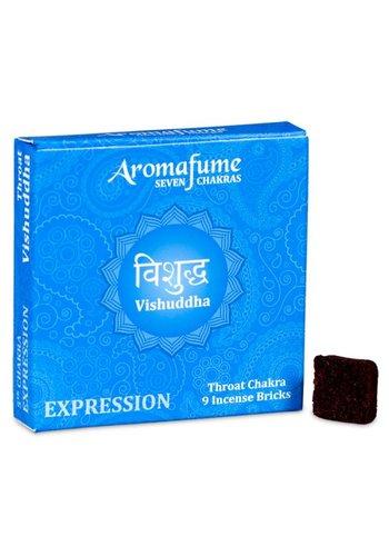 Aromafume Aromafume Chakra Wierookblokjes: Vishudda - keel chakra
