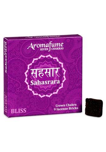 Aromafume Aromafume Chakra Wierookblokjes: Sahasrara - kruin chakra