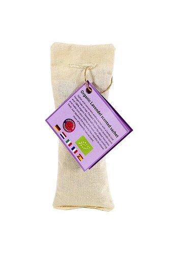 Yogi & yogini Lavendel geurzakje biologisch naturel (5.5x17 cm)