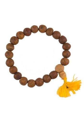 Yogi & Yogini naturals Mala Bodhiboom zaden naturel 21 kralen (1.3 cm)