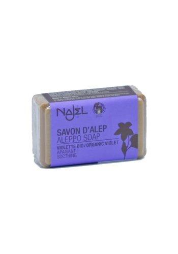 Najel Aleppo Aleppo zeep viooltje (100 gram)