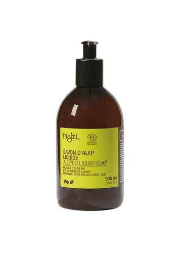 Najel Aleppo Aleppo vloeibare zeep met doseerfles BIOLOGISCH (500 ml)