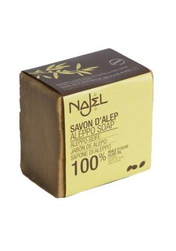 Najel Aleppo Aleppo puur olijf zeep (170 gram)