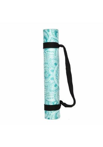 Yoga Tools Yoga mat Mandala Turquoise (3.5mm)