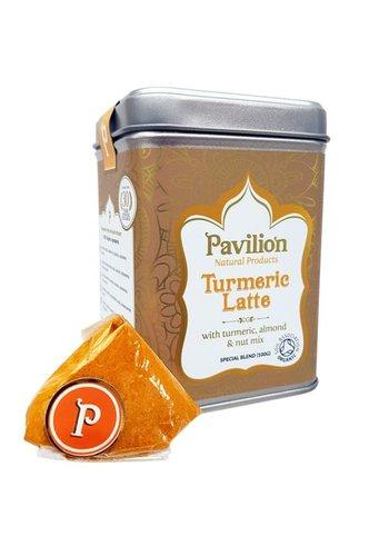 Pavilion Pavilion Ayurvedische Kurkuma Latte amandel/noot bio (100 gram)