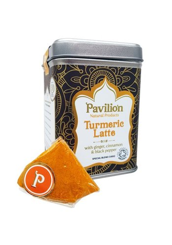 Pavilion Pavilion Ayurvedische Kurkuma Latte gember/kaneel bio (100 gram)