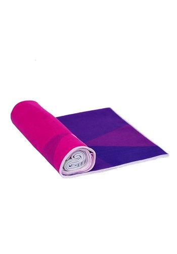Yoga Tools Yogamat handdoek New Geo (182x61 cm)