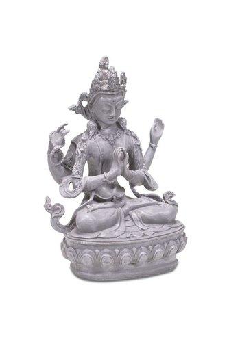 Yogi & Yogini naturals Boeddha van Compassie Chenresig (24cm)