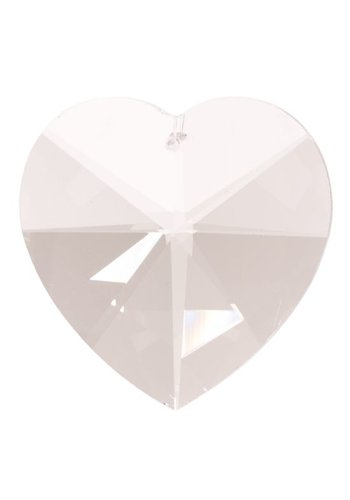 Yogi & Yogini naturals Regenboogkristal hartvorm (5 cm)