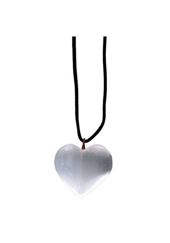 Yogi & Yogini naturals Seleniet hanger hart (3 cm)