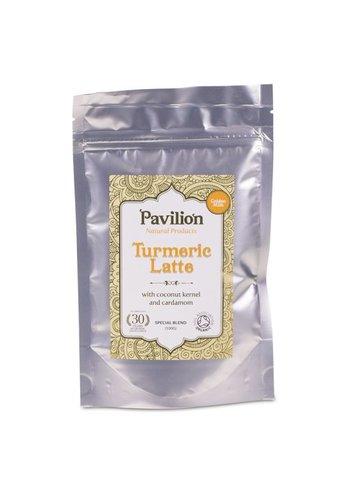 Pavilion Pavilion Ayurvedische Kurkuma Latte kokosrasp/kardemom navulpak (100 gram)