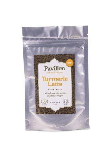 Pavilion Pavilion Ayurvedische Kurkuma Latte gember/kaneel navulpak (100 gram)