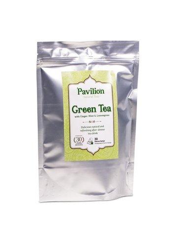 Pavilion Pavilion Ayurvedische Groene Thee navulpak (30x 2 gram)