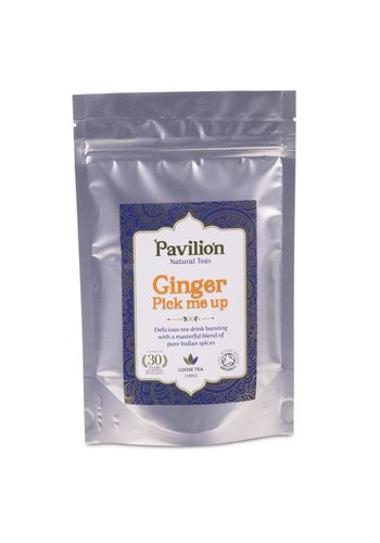 Pavilion Pavilion Ayurvedische Gember Thee losse thee navulpak (100 gram)