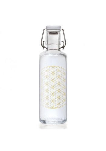 Yogi & Yogini naturals Soulbottle Flower of Life drinkfles (600 ml)