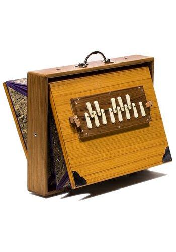 """Yogi & Yogini naturals Shruti Box Saraswati """"432 Hz"""""""